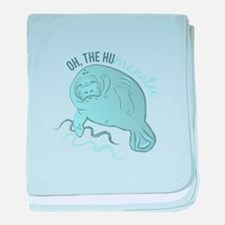 Oh The Humanatee baby blanket