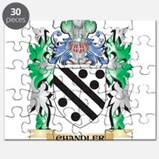 Chandler Coat of Arms - Family Crest Puzzle