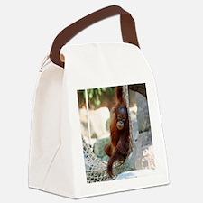 OrangUtan20151003 Canvas Lunch Bag