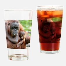 OrangUtan20151006 Drinking Glass