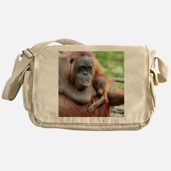 OrangUtan20151006 Messenger Bag