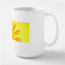 hello sunshine Large Mug