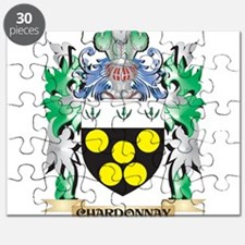Chardonnay Coat of Arms - Family Crest Puzzle