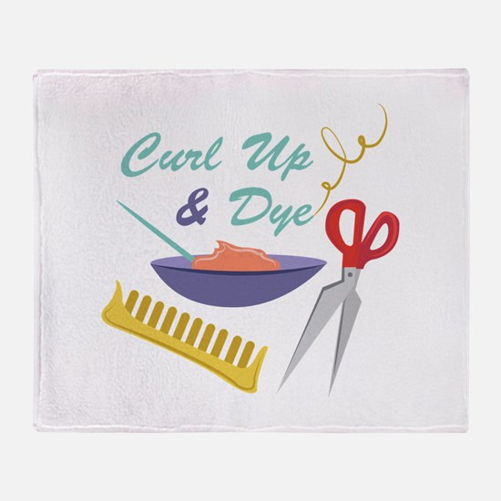 Curl Up Throw Blanket