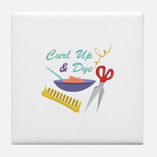 Curl Up Tile Coaster