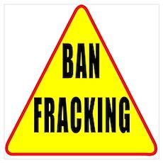 Ban Fracking Poster