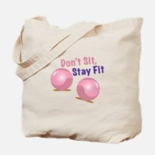 Stay Fit Tote Bag