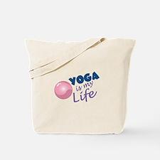Yoga Is Life Tote Bag