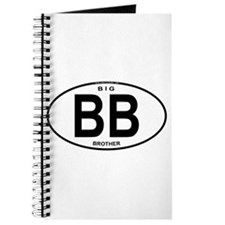 Big Brother Euro Oval Journal