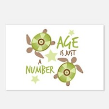 Just A Number Postcards (Package of 8)