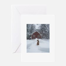 Cute Airedale Greeting Card