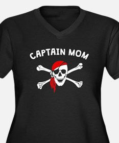 Captain Mom Plus Size T-Shirt