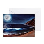 Moon to Edge of Earth Greeting Cards (Pk of 10)