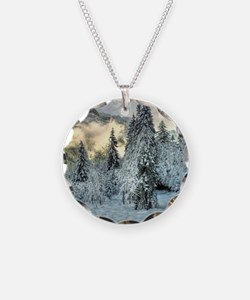Snow In The Mountains Necklace
