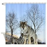 Animals wildlife Shower Curtains