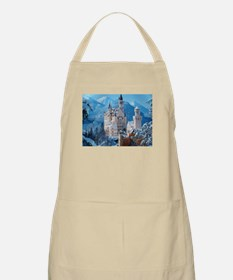 Castle In The Winter Apron