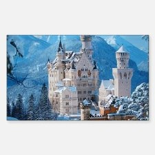 Castle In The Winter Decal
