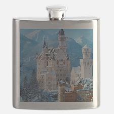 Castle In The Winter Flask