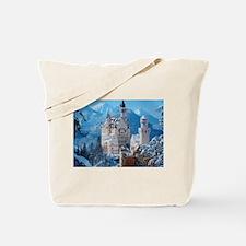 Castle In The Winter Tote Bag