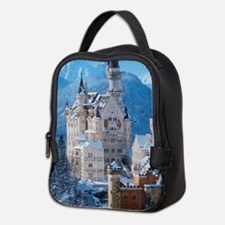 Castle In The Winter Neoprene Lunch Bag