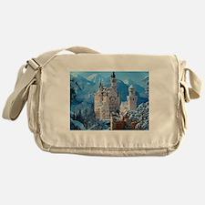 Castle In The Winter Messenger Bag