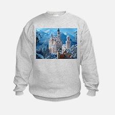 Castle In The Winter Sweatshirt