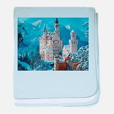 Castle In The Winter baby blanket