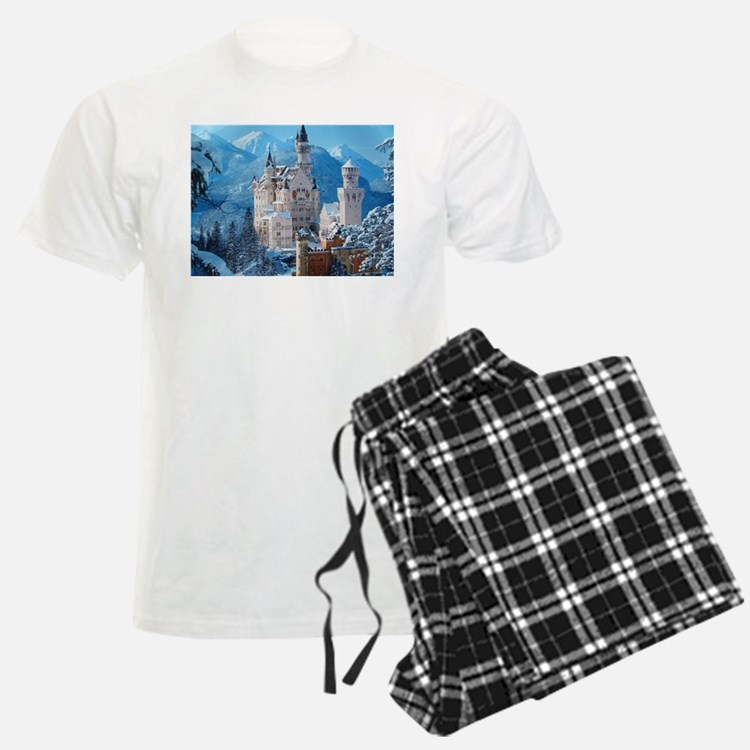 Castle In The Winter pajamas