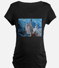 Castle In The Winter Maternity T-Shirt