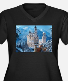 Castle In The Winter Plus Size T-Shirt