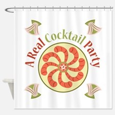 Cocktail Party Shower Curtain