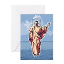 Unique Jesus liberal Greeting Card