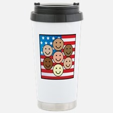 American People Stainless Steel Travel Mug