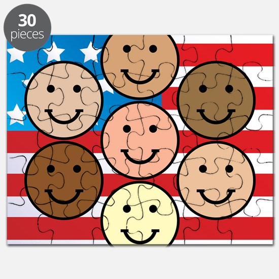 American People Puzzle