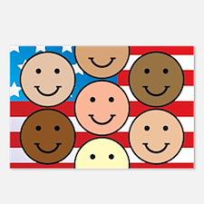 American People Postcards (Package of 8)