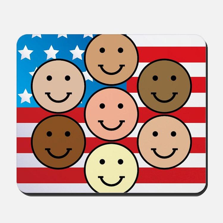American People Mousepad