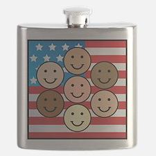 American People Flask