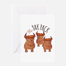Yak Pack Greeting Cards
