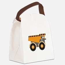 Dump Truck Canvas Lunch Bag