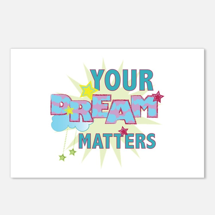 Your Dream Matters Postcards (Package of 8)