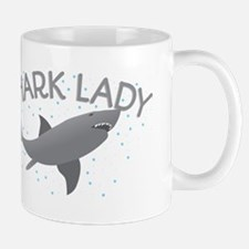 SHARK LADY Mugs