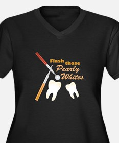 Pearly Whites Plus Size T-Shirt