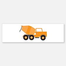 Cement Truck Bumper Bumper Bumper Sticker