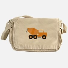 Cement Truck Messenger Bag