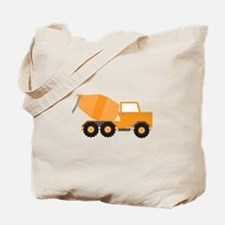 Cement Truck Tote Bag