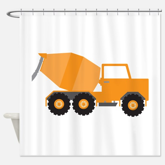 truck shower cement truck shower curtains cement truck fabric shower curtain