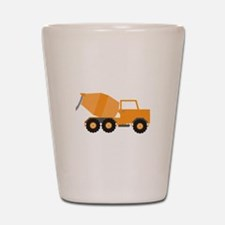 Cement Truck Shot Glass