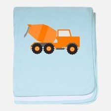 Cement Truck baby blanket