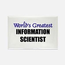 Worlds Greatest INFORMATION SCIENTIST Rectangle Ma