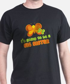 Big Sister Butterflies T-Shirt